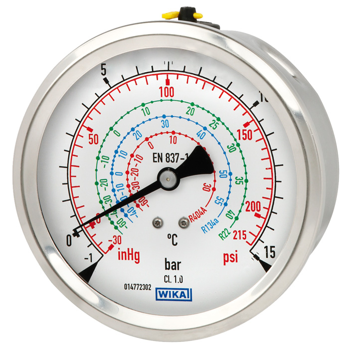 Models 112.28, 132.28 Bourdon tube pressure gauge Industrial series