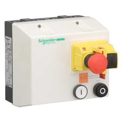 Schneider TeSys LG, LJ - Enclosed direct-on-line starters for safety applications up to 9kW/400V