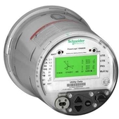 Schneider PowerLogic ION8650 - Revenue and power quality meters for utility network monitoring