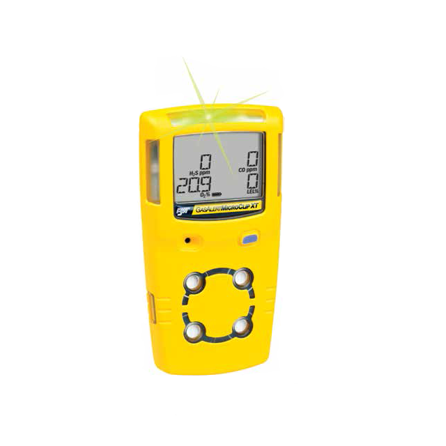 BW Technologies by Honeywell Multi-Gas Detector GasAlertMicroClip XT