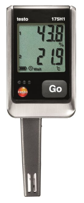 Testo 175 H1 data logger Humidity Temperature monitoring HVACR Food Pharma Operations, maintenance and service
