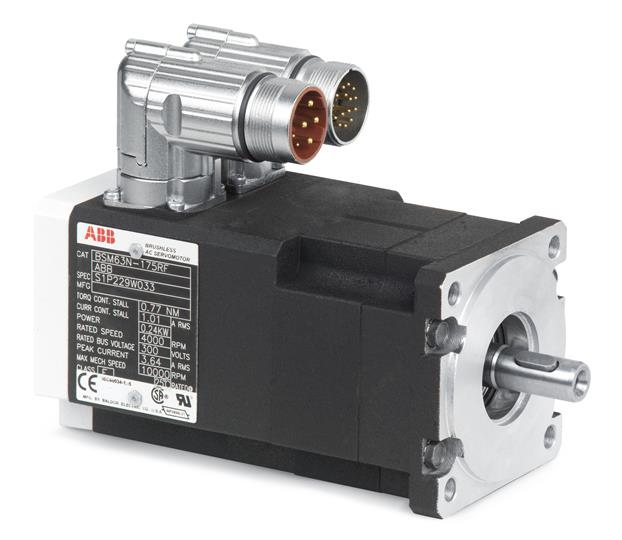 ABB BSM50N-133AA Servo Motors 3ABD00035469 Motors and Generators AC Brushless Servo N-Series Motors
