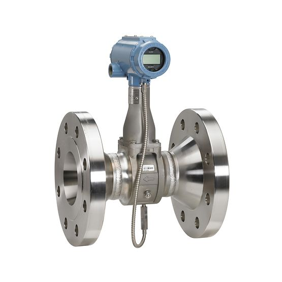 Rosemount 8800DF010SA1N1P1E5M5Q4 Vortex Flow Meter Emerson Automation MultiVariable Flow Meter