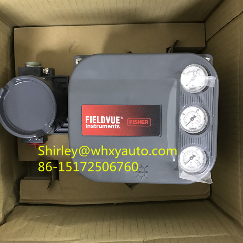 Fisher FIELDVUE DVC6200 Digital Valve Controller Emerson Automation Solutions Valves Actuators Regulators