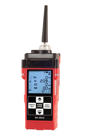 RKI Instruments GX-2012 Multi Gas Detector Portable Gas Monitors Multi-Gas gas monitor