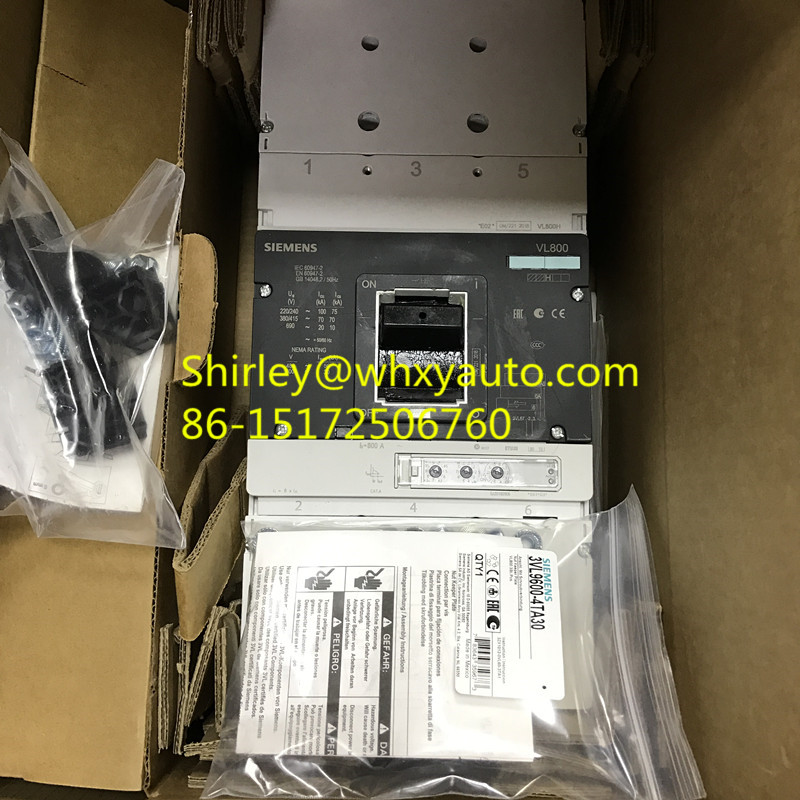Siemens 3WL1120-4AS32-1AA2 circuit breaker VL800