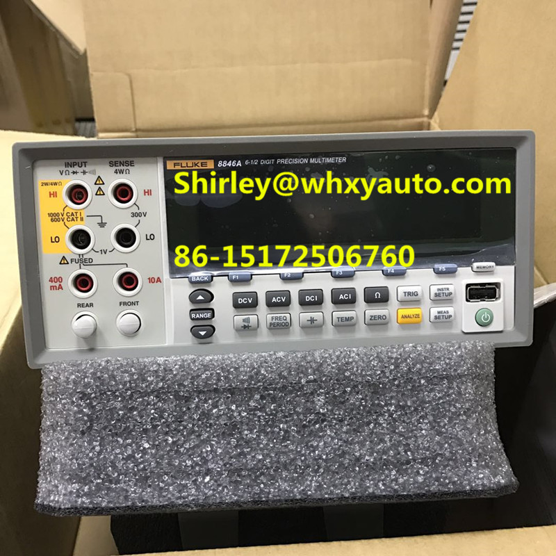 Fluke 8845A/8846A 6.5 Digit Precision Multimeters Precision measurement Bench instruments