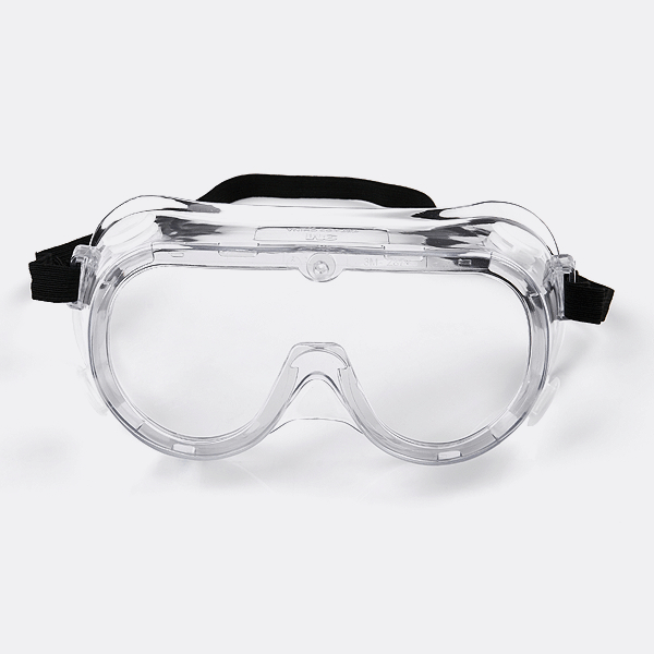 Plastic goggles for medical usage to protect your eyes.